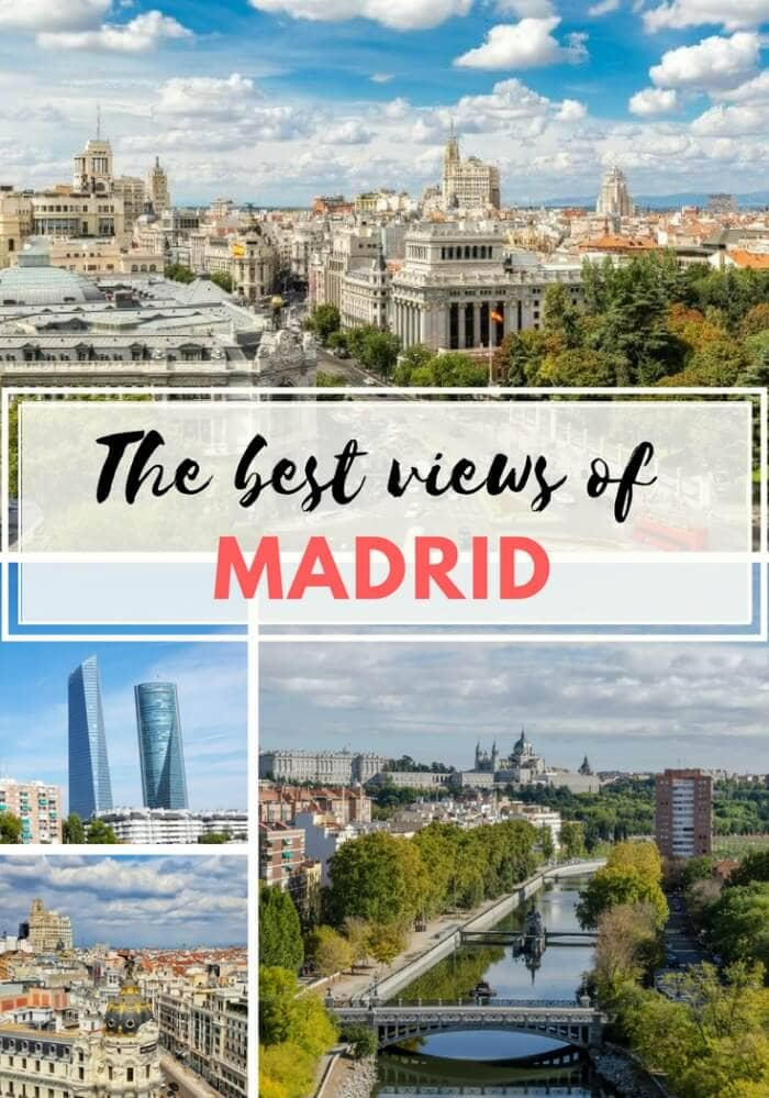 best Viewpoints in Madrid
