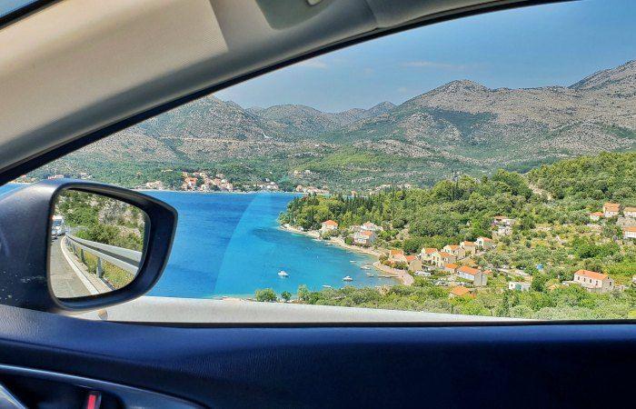 moverse por Croacia