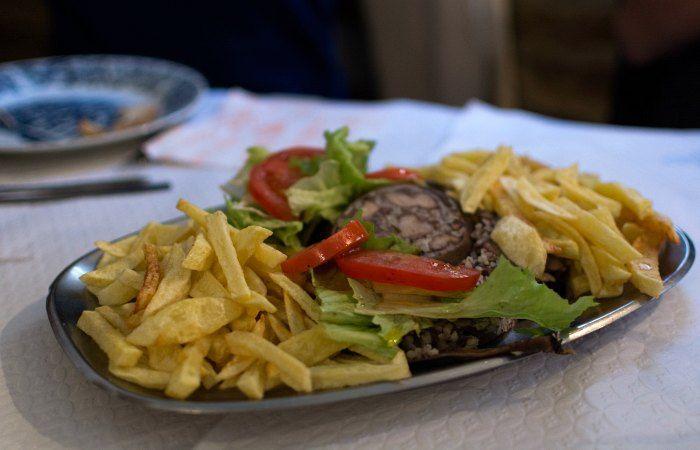 platos tipicos centro de portugal
