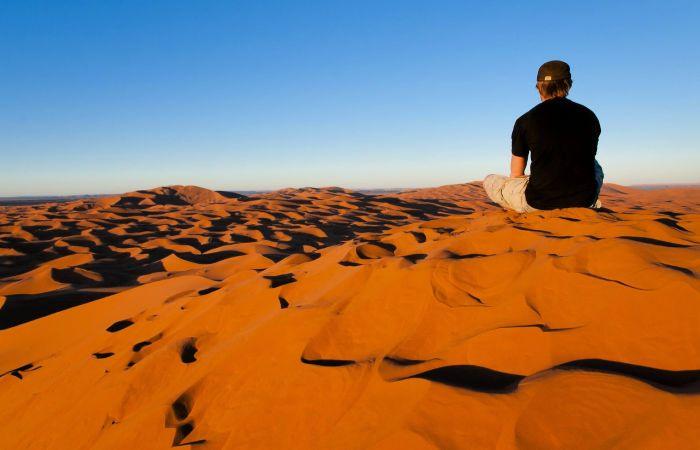 Dormir en el desierto marruecos