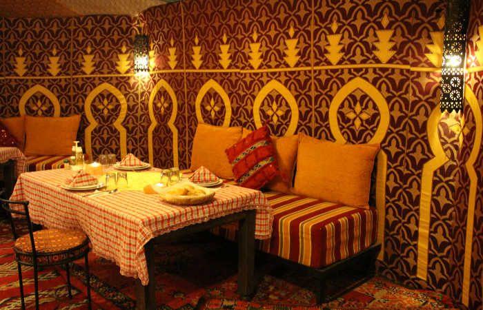 campamento desierto marruecos
