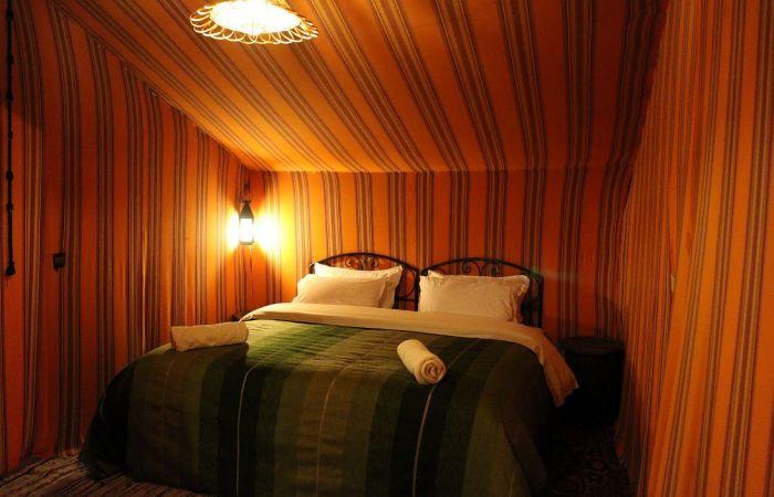 donde dormir en el desierto de merzouga