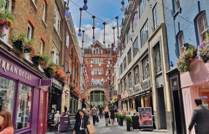 Barrio del Soho Londres