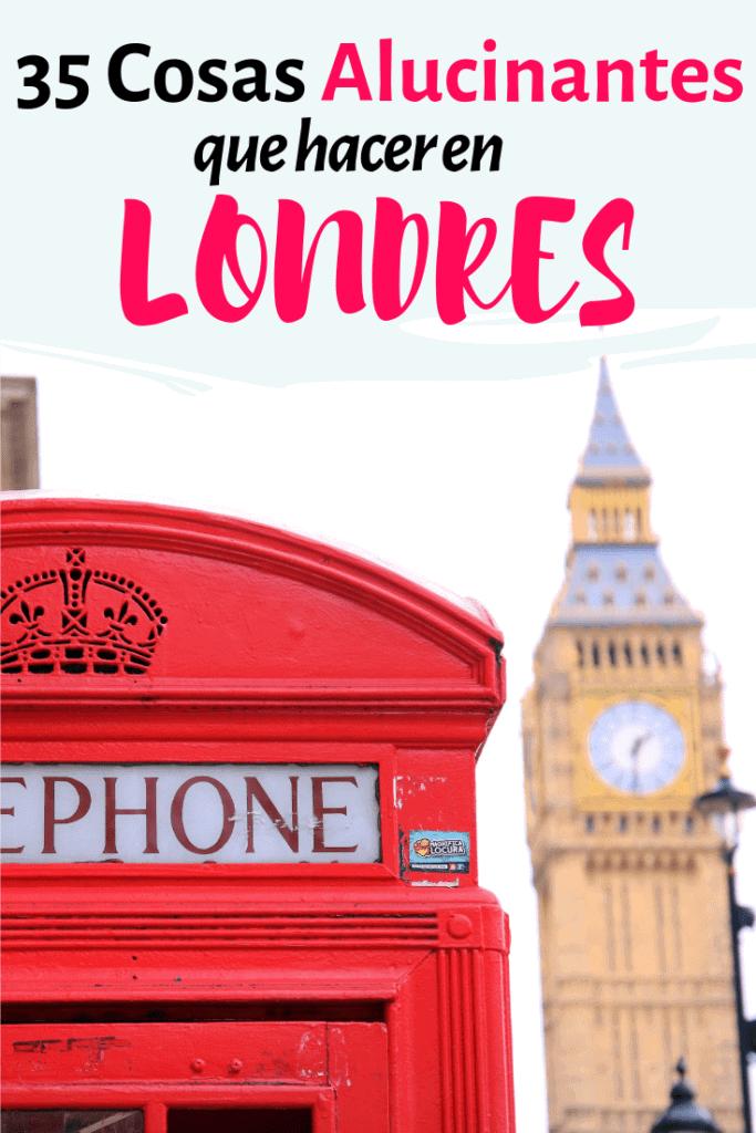 Cosas tipicas que hacer en Londres