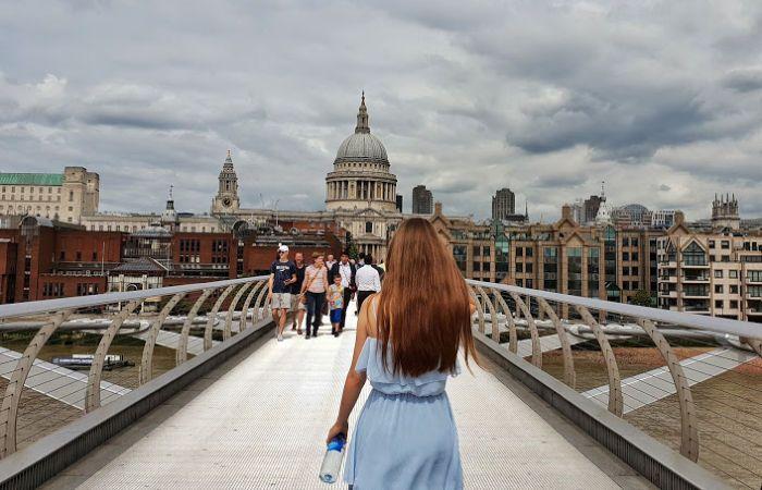 Puente de calatrava londres