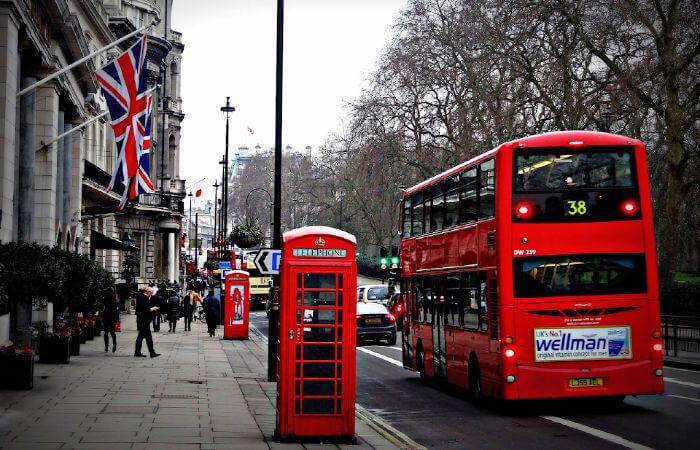 cosas típicas de Londres