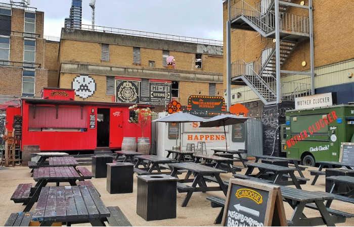 food trucks de Londres