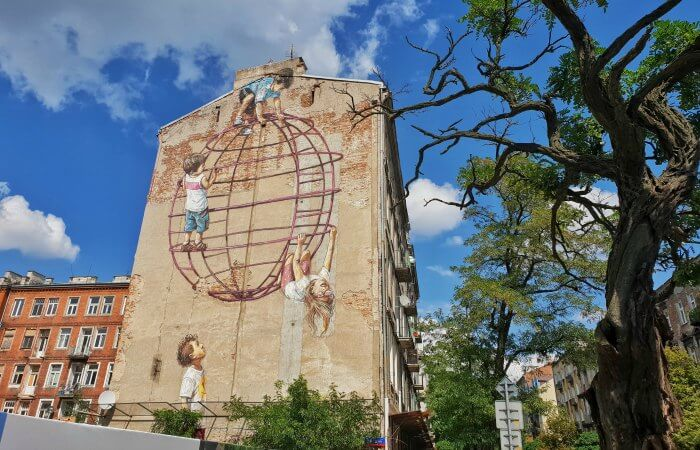 arte callejero varsovia