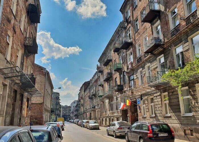 barrio de Praga Varsovia el pianista