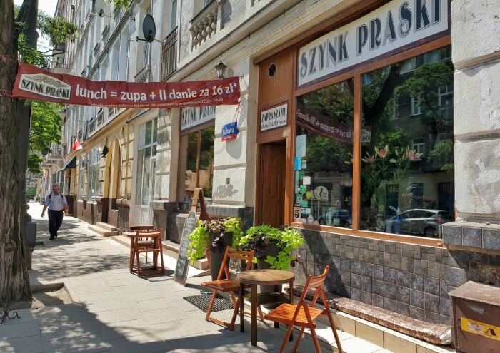 barrio de praga varsovia como llegar