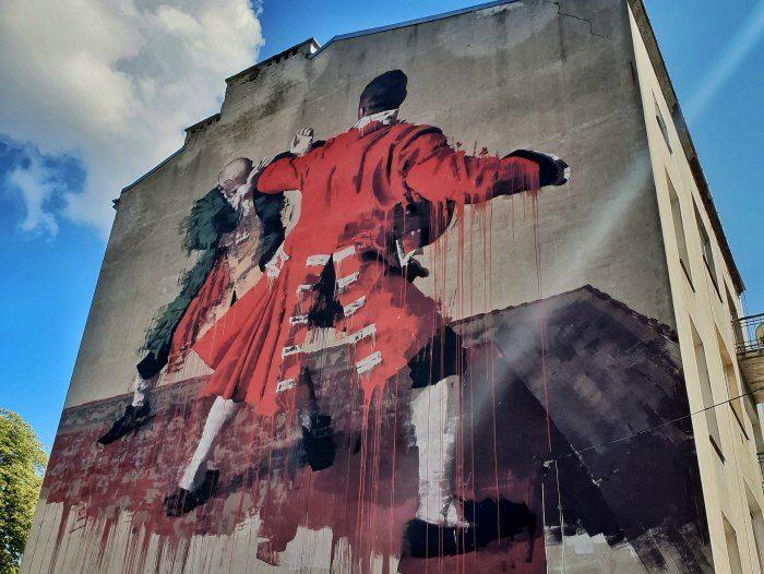 street art varsovia
