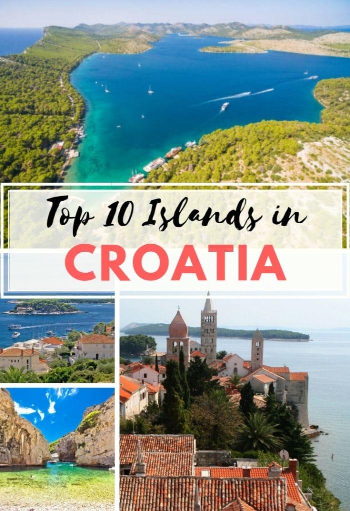 Top 10 Islands in Croatia