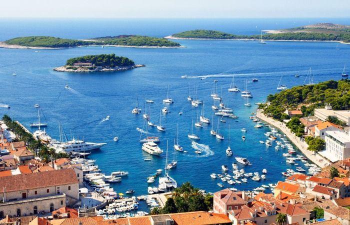 islas de Croacia mapa