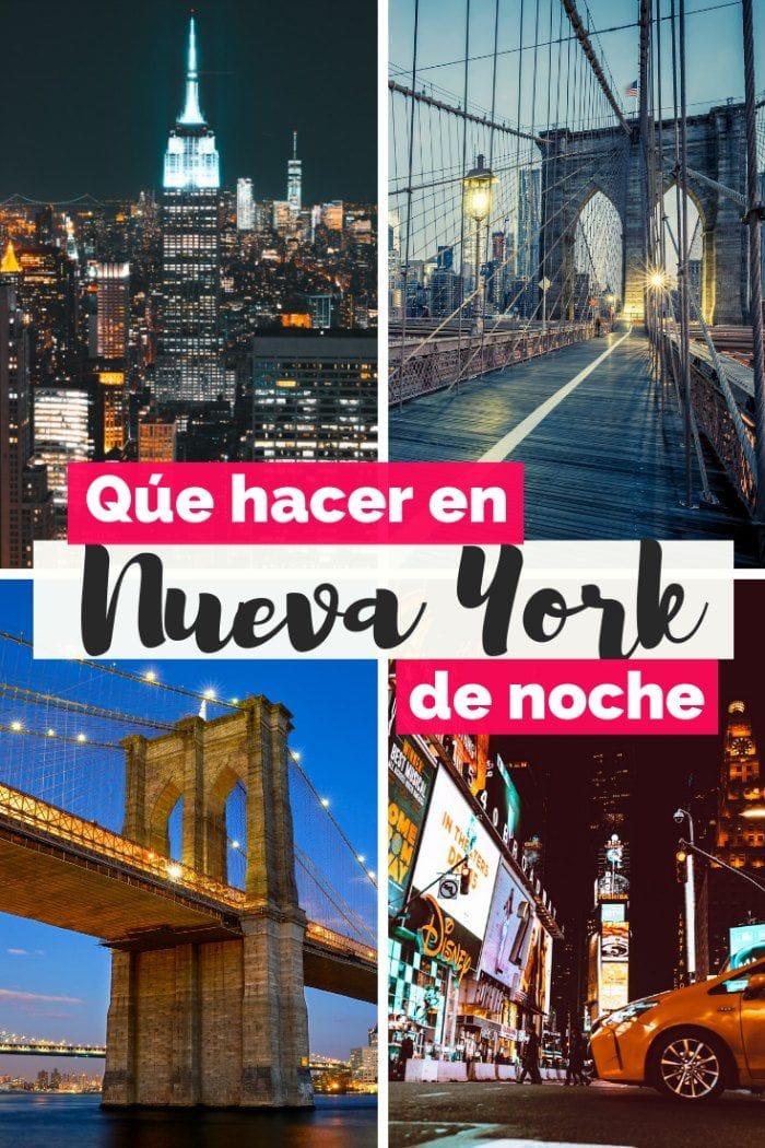 Cosas que hacer en Nueva York de noche