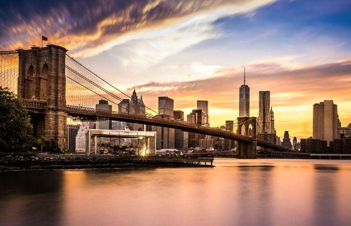 cena romántica barata nueva york