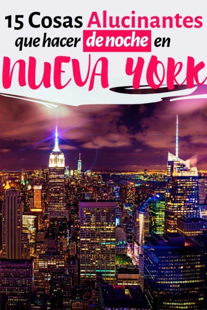 nueva york de noche lugares turisticos