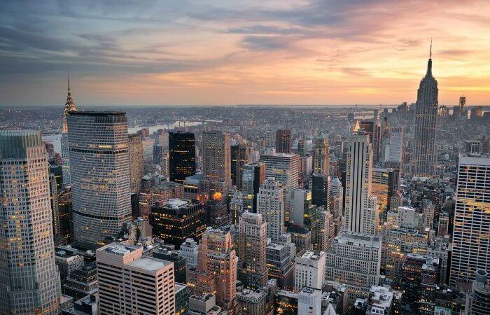 planes en pareja Nueva York