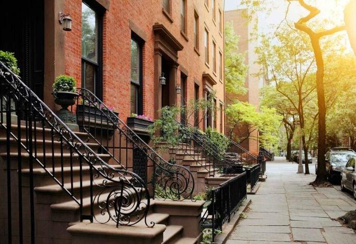 barrio de Brooklyn en nueva york