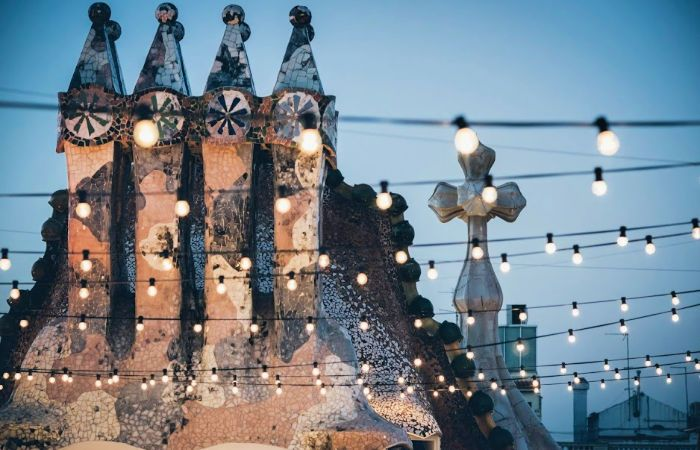 visita nocturna Casa Batlló
