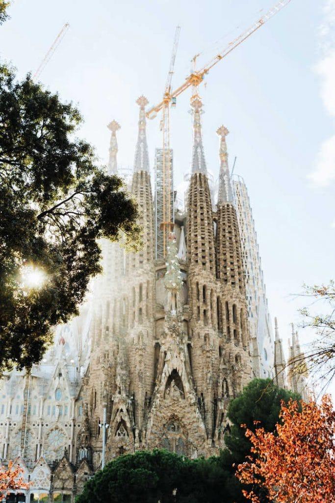 visitar la sagrada familia barcelona