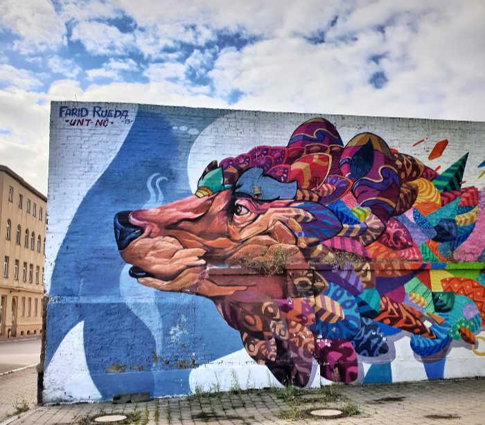 street art Halle Alemania
