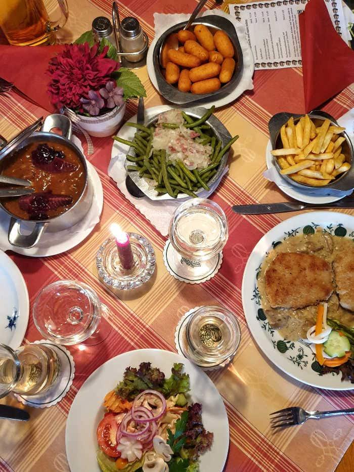 comida tipica alemana