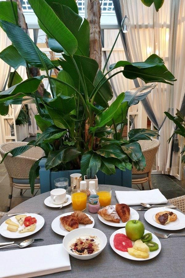 desayunar en el norte de Italia