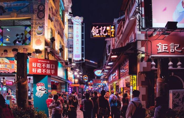 dónde está Macao