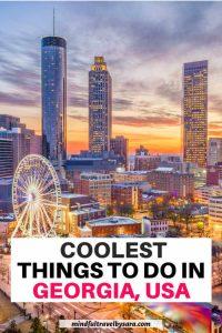 top things to do in Georgia USA