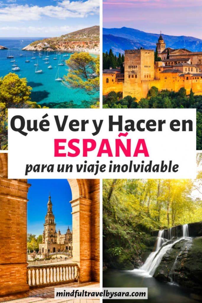 Que ver y hacer en España