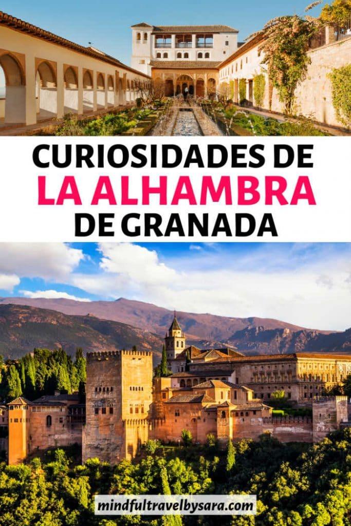 Curisodidades que no sabias de La Alhambra