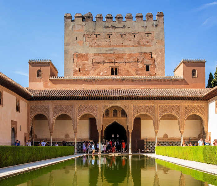 La Alhambra para niños