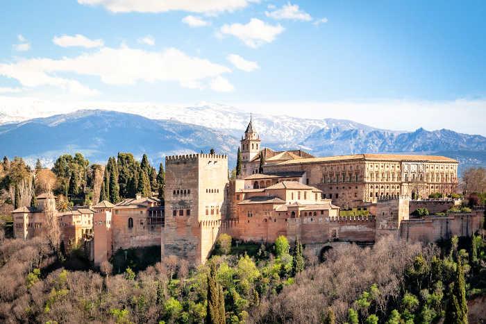 Vistas de la Alhambra de Granada