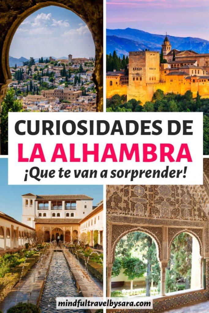 curiosidades Alhambra