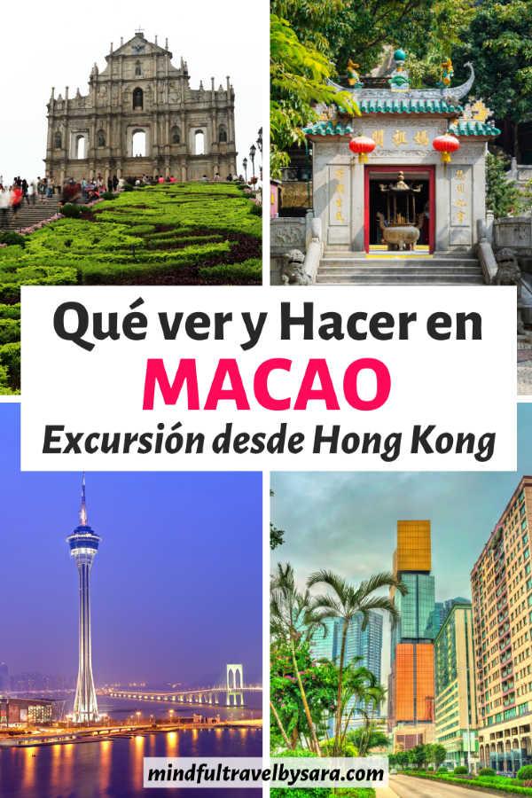 Excursión a Macao desde Hong Kong