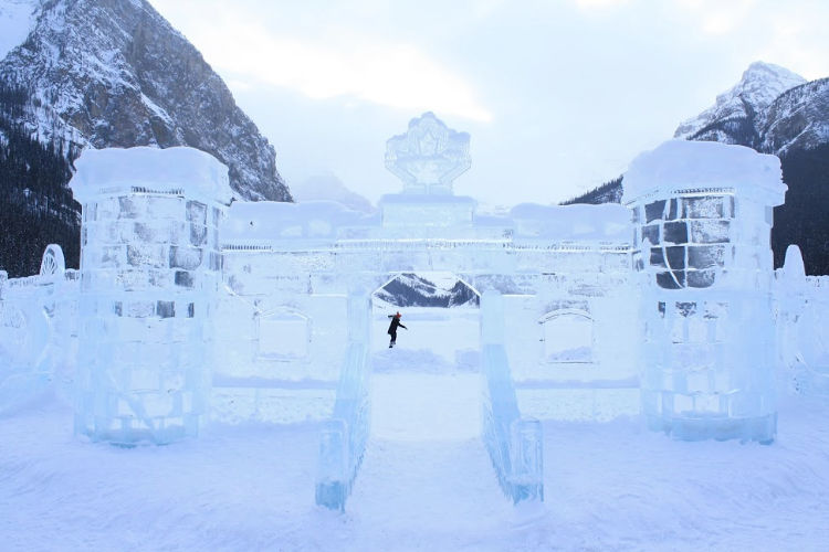 Banff Lake Louise Ice Castle
