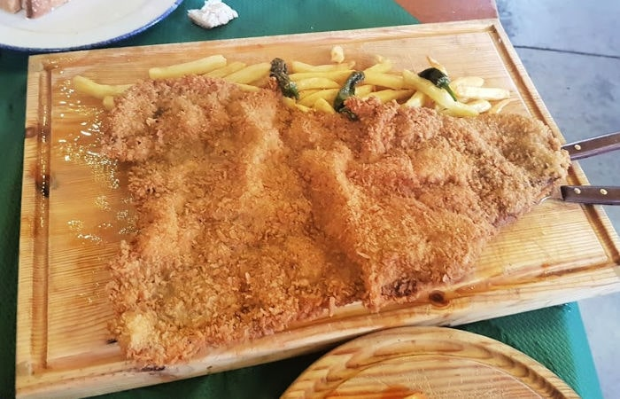 Cachopo asturiano típico