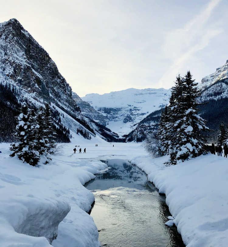 Lake Louise in winter