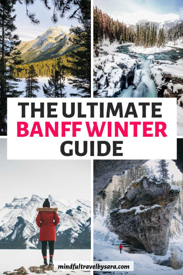 banff canada winter
