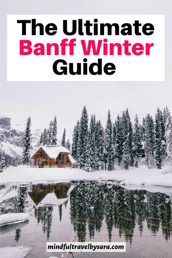 banff national park winter