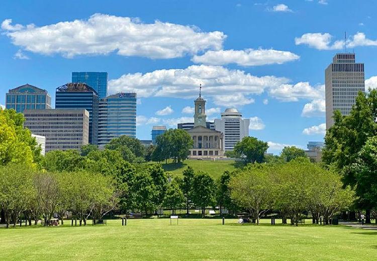 Bicentennial Capitol Mall State Park in Nashville TN