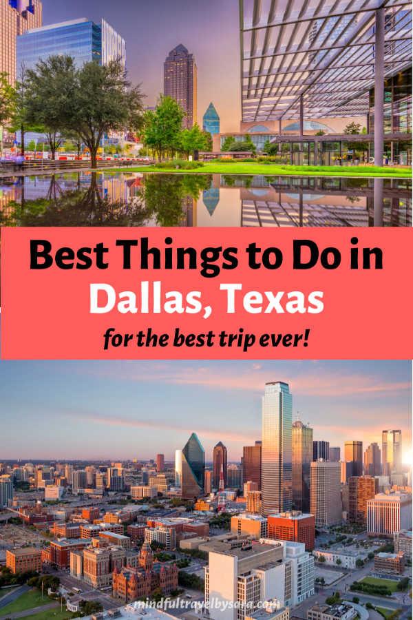 Dallas Bucket List