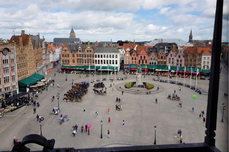 Bruges in Spring with kids