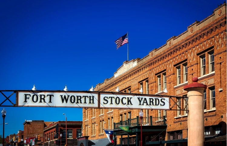 Fort Worth, Texas in Spring