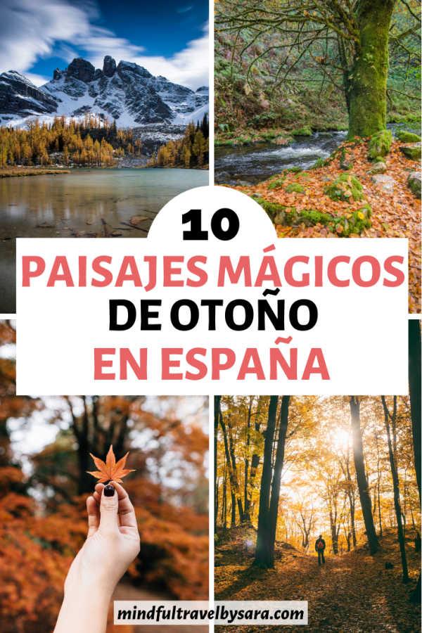 Mejores Lugares para visitar en otoño en España