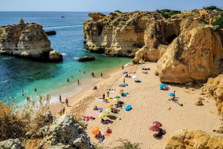 Playa del Algarve Portugal