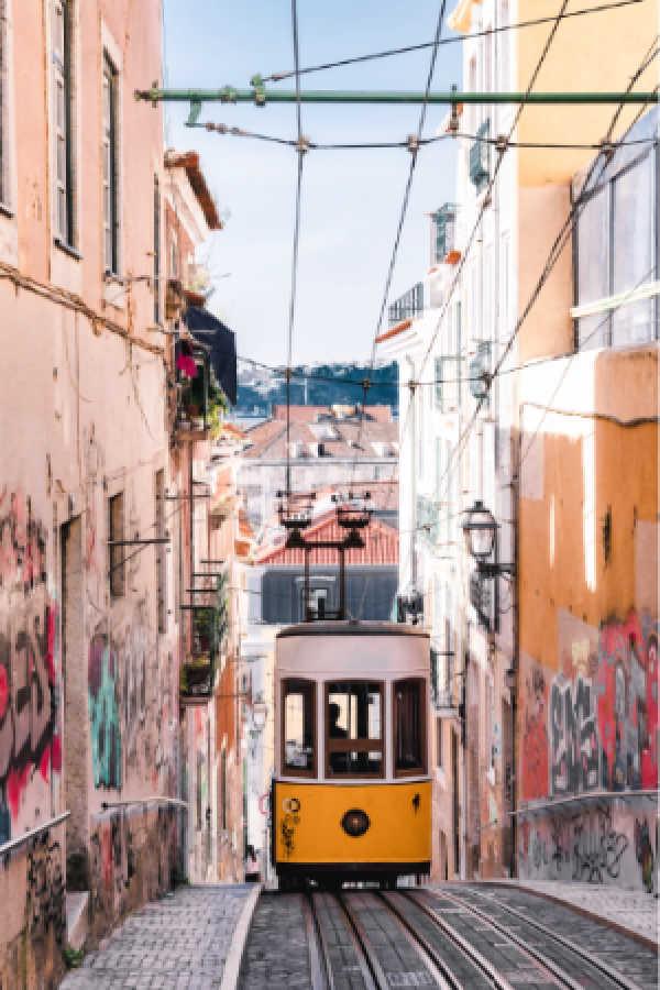 Tranvia Lisboa Portugal