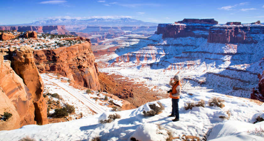 30 Beautiful Places to Visit in Winter in USA