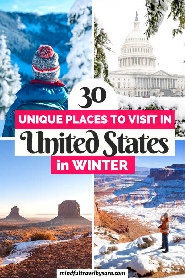 Best places to visit in USA during winter