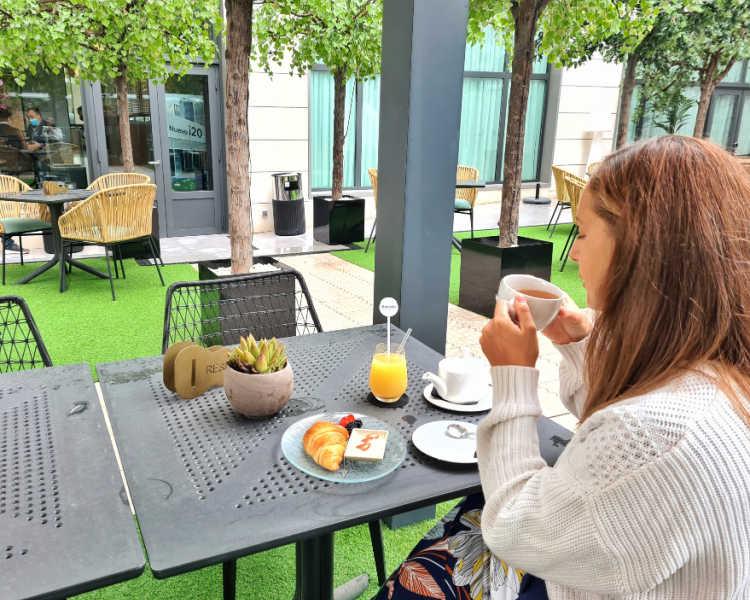 Desayuno Hotel Barceló Imagine Madrid